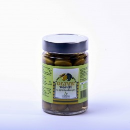 Olive verdi in Salamoia...